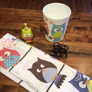 Other - Kids Bathroom Set OWLS 🦉